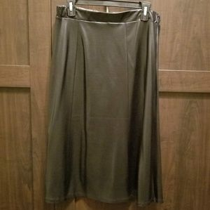 Mila & Milan Faux Leather Skirt